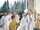 Procession around the Monastery church
