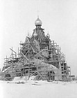Church under construction in 1948